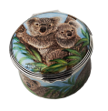 "Koala Bear (PSS-K) 1.57"" diameter. Hand painted by Sandra Selby. Limited Edition of 25. **IN STOCK**"